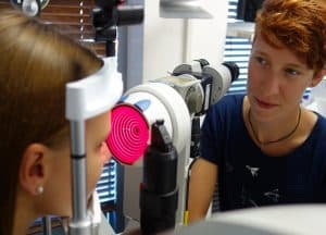 3D Vermessung der Hornhaut
