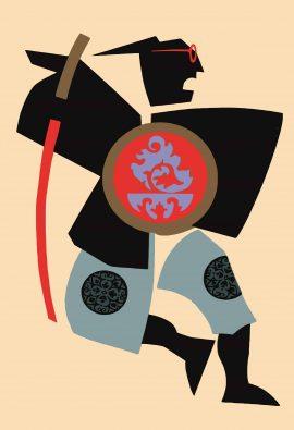 Samurai von Optik Huth